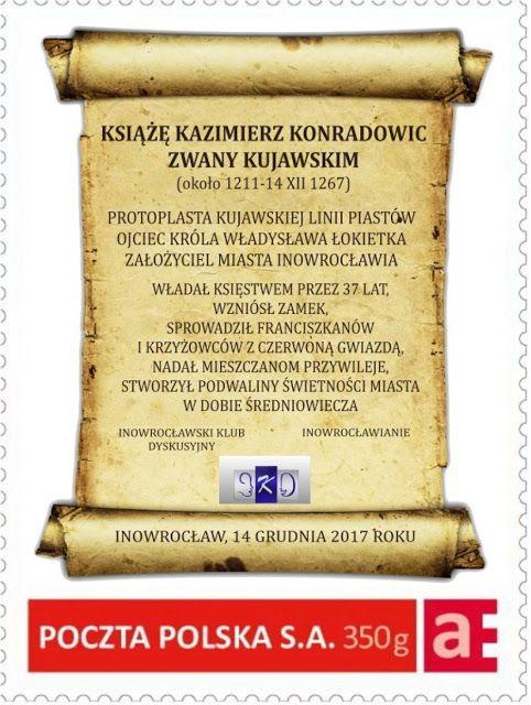 Kroniki Inowrocławskie: Założyciel Inowrocławia, książę Kazimierz Konradow...