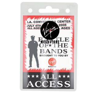 BADGE HOLDER  Price includes 1 color, 1 position print   2 Color imprint available for an additional charge