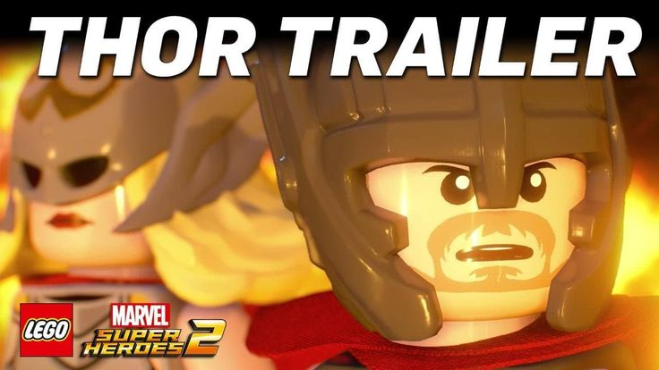 LEGO Marvel Super Heroes 2 – Thor Trailer #trailers