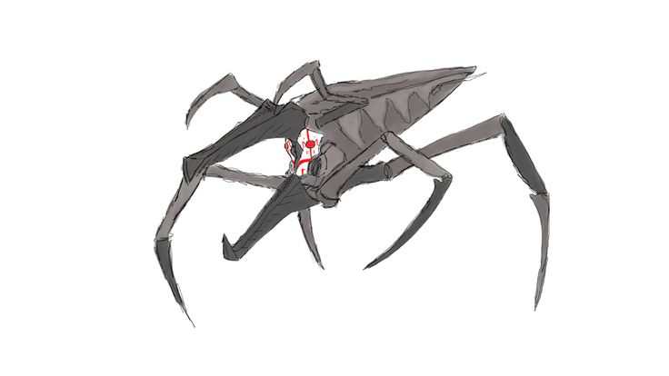 GRIMM ARACHNID (starship troopers bug) by octigonipus