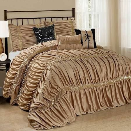 gold comforter - Google Search