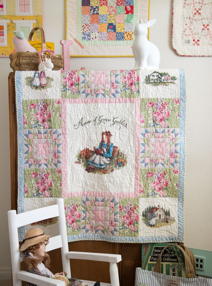 Anne of Green Gables Quilt Panel