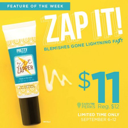 Perfectly Posh Weekly Feature | Zit Zapper this stuff works! I have a customer who noticed a BIG difference in her skin in just three days! https://www.perfectlyposh.com/adriennelord/start?pref=686571