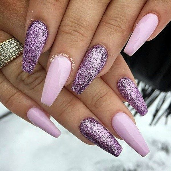 Cute Purple Nail Art Designs To Try In 2019 Fashion 2d Lilac Nails Purple Nail Art Purple Nails