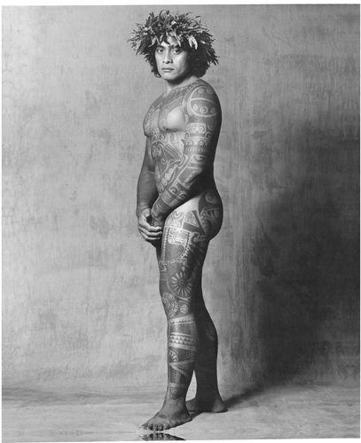 Nude tahitian tattoo designs for women