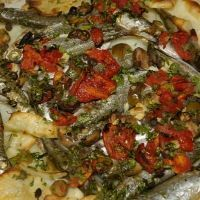 Maltese Anchovy And Potato Pizza Recipe