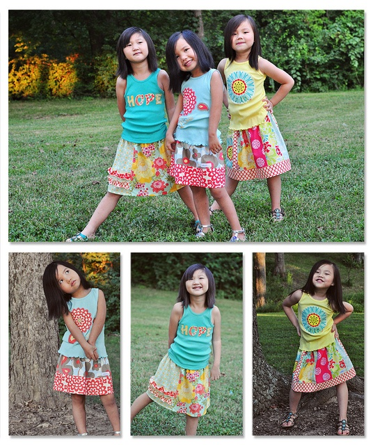 pattern can be purchased at www.createhopedesigns.com  100% of profit will help the orphans at www.chinalittleflower.org: Girls Generation, Girls Dresses, Summer Skirts, My Friends, Friends Robyn, Skirts Patterns, Sweet Girls, Cute Pattern, Gorgeous Girls