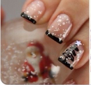 Christmas nails, Christmas and Nails on Pinterest