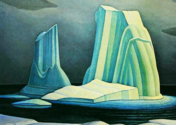 While I like most of the Group of Seven work, I've never been able to get attached to any Lawren Harris painting. So modern and smooth for the period though. So different that the rest of group, almost like Carmichael's style taken further. FYI he was Lawren was also an heir to the Massey-Harris tractor family.