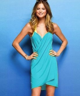Vestido / Pareo de playa - Azul Antes: 25,00 €16,50 €