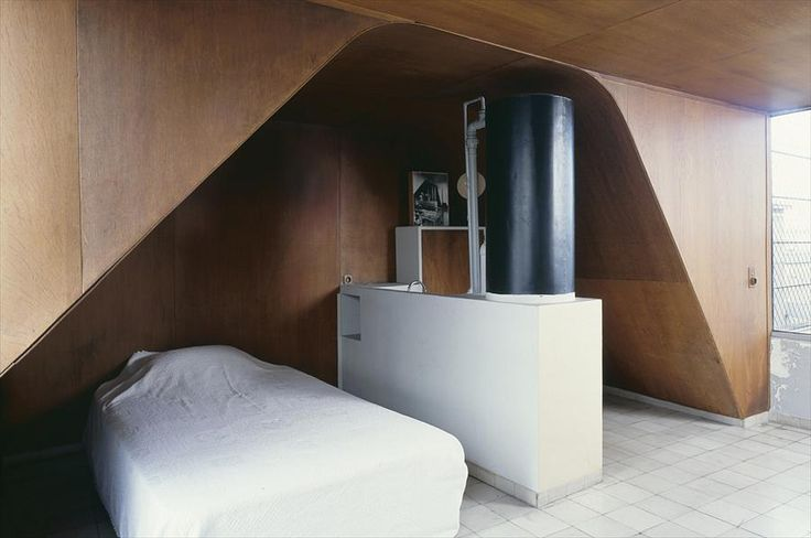 Le Corb's Studio Apartment in France opens for visits | http://www.yellowtrace.com.au/le-corbusier-studio-apartment-france/