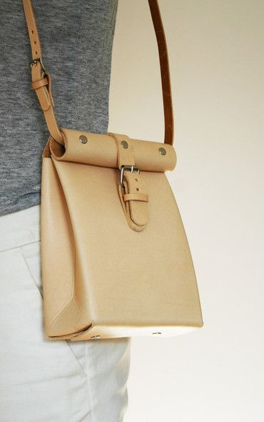 Roll Top Bag by Chloe Stanyon Design