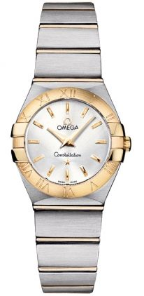123.20.24.60.02.002   NEW OMEGA CONSTELLATION LADIES MINI WATCH  IN STOCK   - FREE Overnight Shipping | Lowest Price Guaranteed    - NO SALES TAX (Outside California)- WITH MANUFACTURER SERIAL NUMBERS- Silver Dial   - Battery Operated Quartz Movement- 3 Year Warranty - Guaranteed Authentic - Certificate of Authenticity - Manufacturer Box