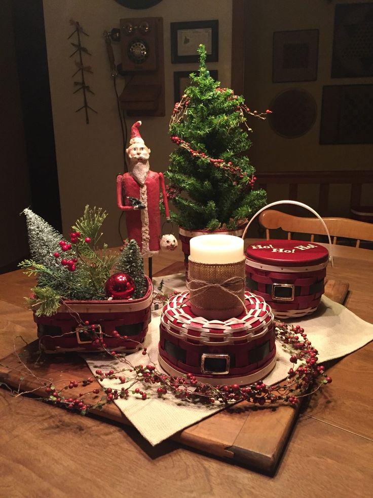 Christmas with my longaberger i love