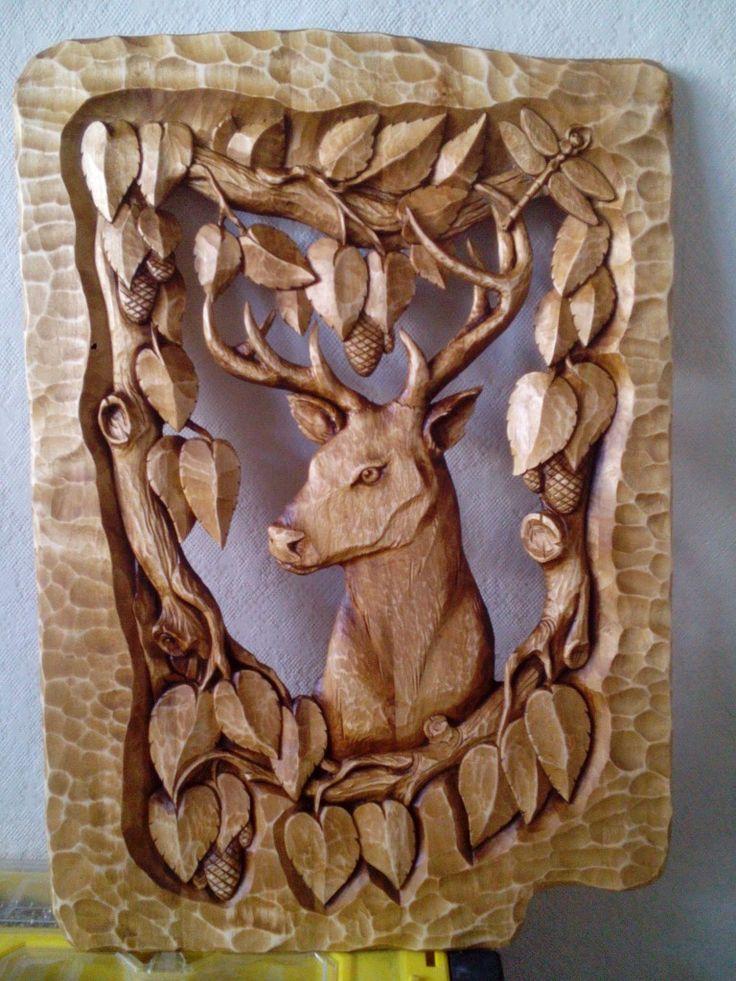 перестают резьба по дереву картинки животных оленя лабиринт угощает