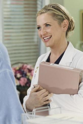 Day 2: Favorite Female character...  Dr. Arizona Robbins. This one was easy. :)
