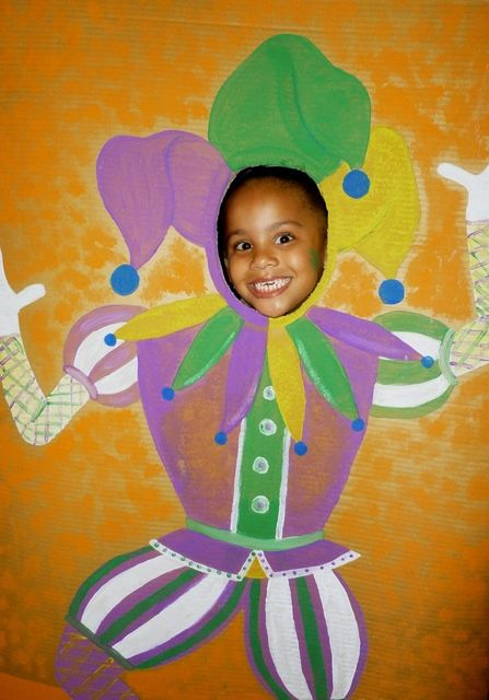 Mardi Gras Photo Booth for EPAS Party