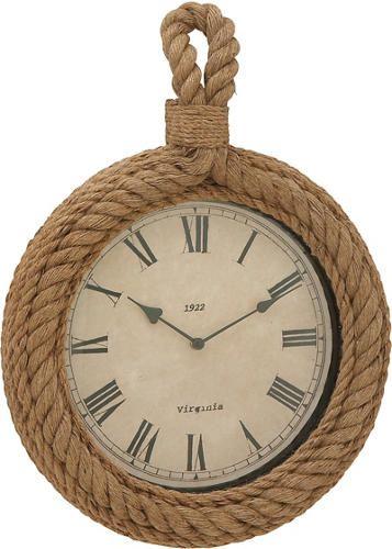 "Cheney 12"" Rope Wall Clock   - Art Van Furniture"