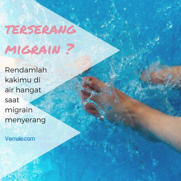 Dengan merendam telapak kaki di air hangat, hal ini akan membantu sistem aliran darah dalam tubuh bekerja dengan baik. Ini juga akan membantu otot-otot tubuh menjadi lebih rileks.  #vemaledotcom #ruangvemale #sharingajasis #good2share #tips #november #migrain #healthytips