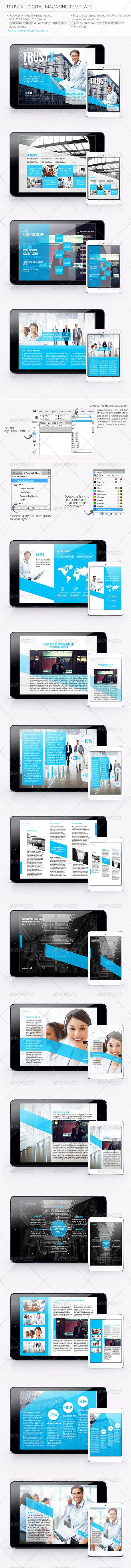 Trustx - Digital Magazine Template http://graphicriver.net/item/trustx-digital-magazine-template/5473781?WT.ac=portfolio_1=portfolio_author=Realstar