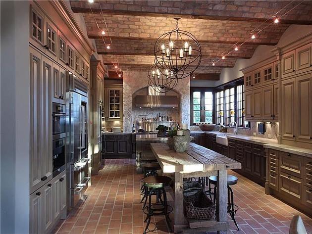 Dream Rustic Kitchens 38 best celebrity kitchens images on pinterest | celebrity