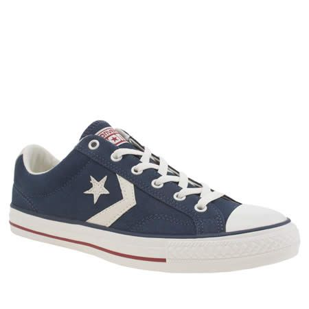 mens converse navy star player ox trainers