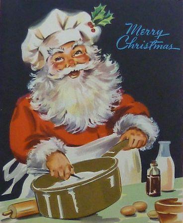 10 Cool Vintage Santa Images