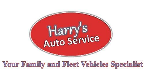 This is the logo of Harry's Auto Service situated in Saskatoon as a local Auto repair shop and Auto repair service.