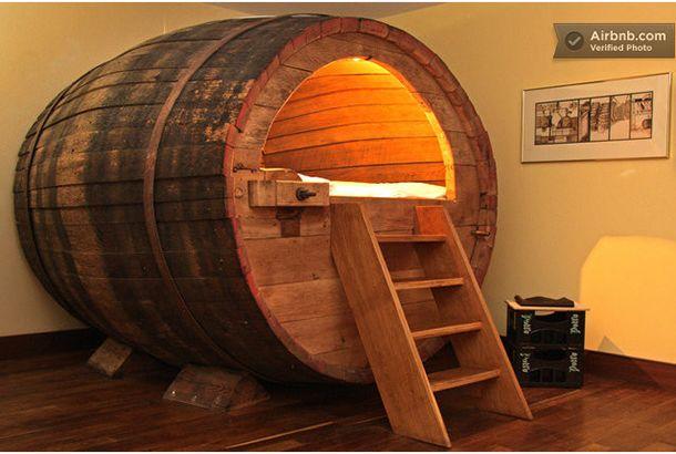ビール樽に泊まるドイツのホテル   roomie(ルーミー)                                                                                                                                                                                 もっと見る