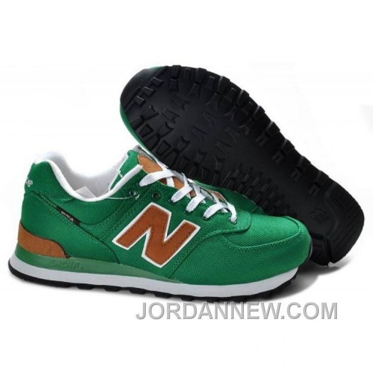 New Balance Green Gold