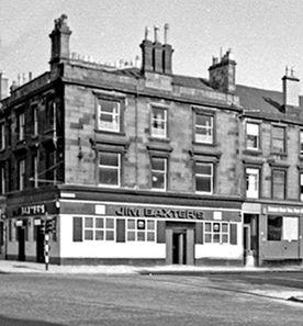 Jim Baxters Pub. Admiral Street/Paisley Road Toll.