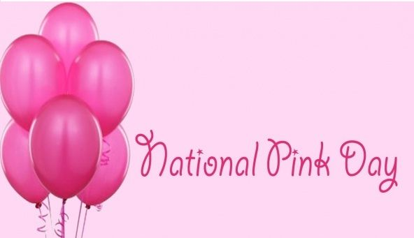 National Pink Day is June 23rd every year--going to put it on my calendar!