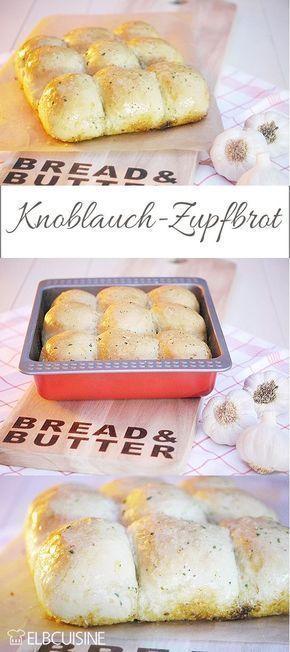 Mehr Brötchen als Brot ist dieses leckere Zupfbrot mit Knoblauch-Füllung. Perfekt für die nächste Party oder das Grillfest!