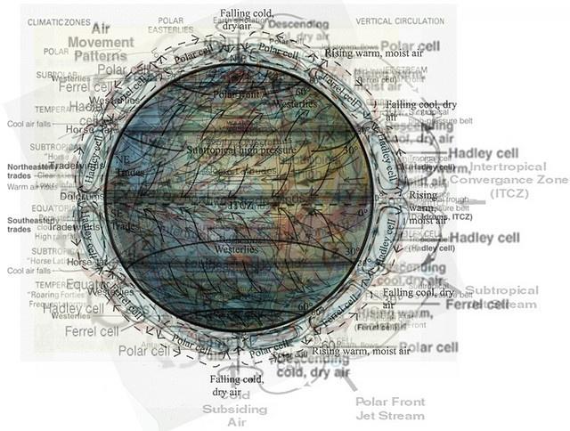 Geo Graphic: Atmospheric Circulation by Casey Cripe, via Flickr
