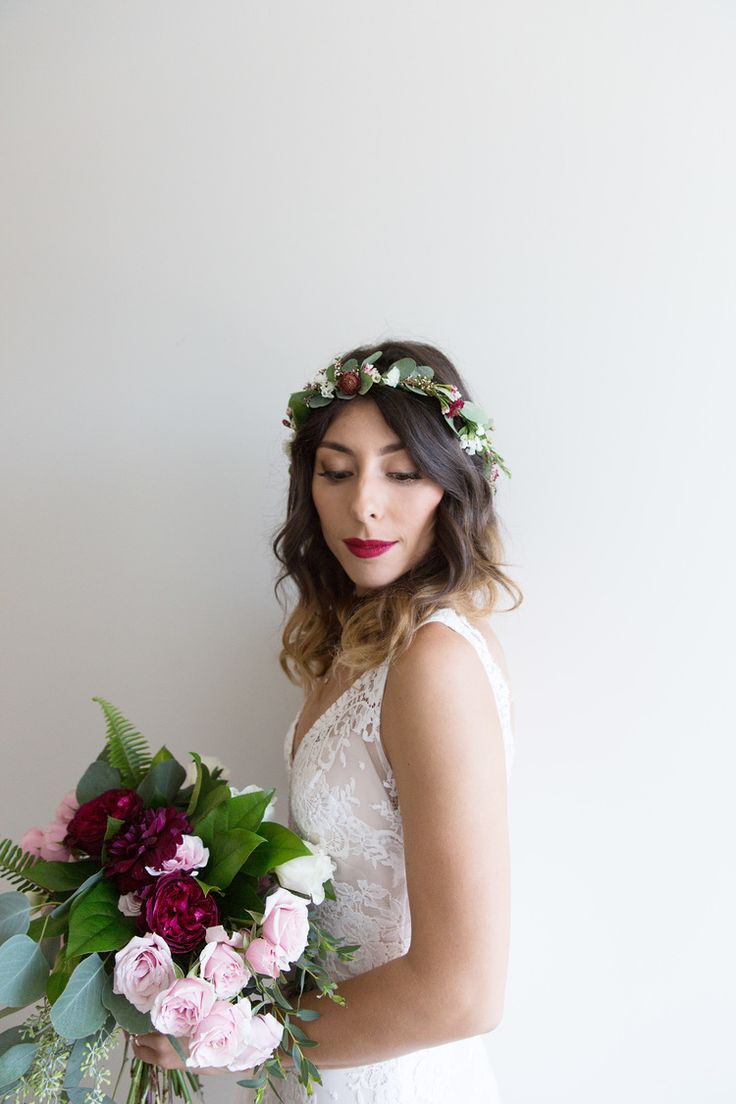 Real Bride Erica In The Isolde Gown By Anais Anette