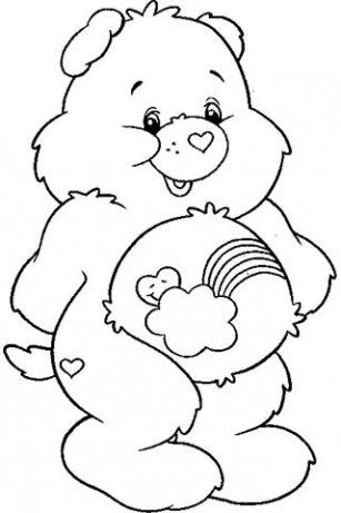 Coloring Sheets Adult Pages Books Kids Colouring Bear Gallery Care Bears Craft Printable Find This Pin