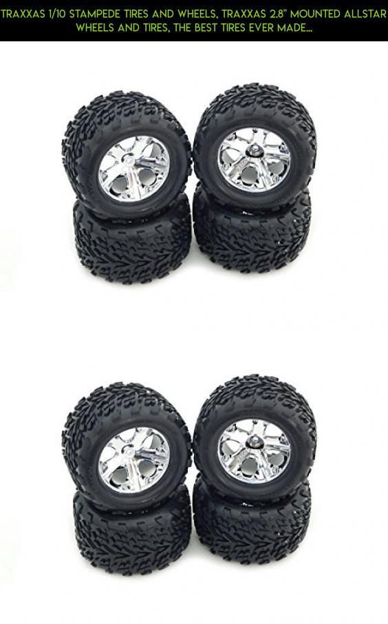 """TRAXXAS 1/10 STAMPEDE TIRES AND WHEELS, TRAXXAS 2.8"""" MOUNTED ALLSTAR WHEELS AND TIRES, THE BEST TIRES EVER MADE FOR THE TRAXXAS STAMPEDE TRUCK 3669, 3668 #parts #fpv #plans #tech #gadgets #kit #technology #shopping #drone #wheels #camera #products #traxxas #racing"""