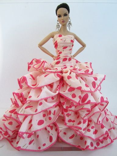 Poppy Parker for Sale | Pink Dress Outfit Gown Poppy Parker Silkstone Barbie Fashion Royalty ...