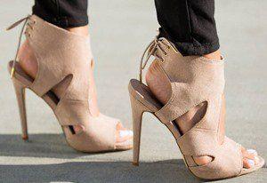 Kellie Cutout Heels