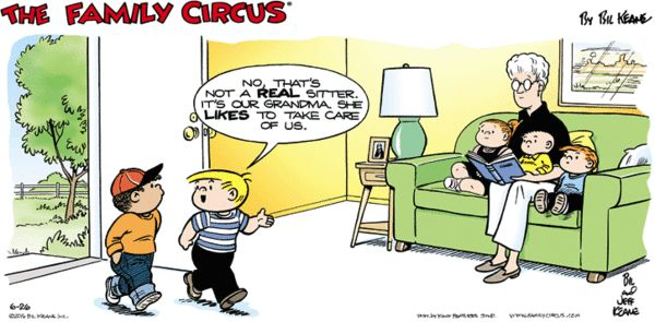 Family Circus Comics ArcaMax Publishing