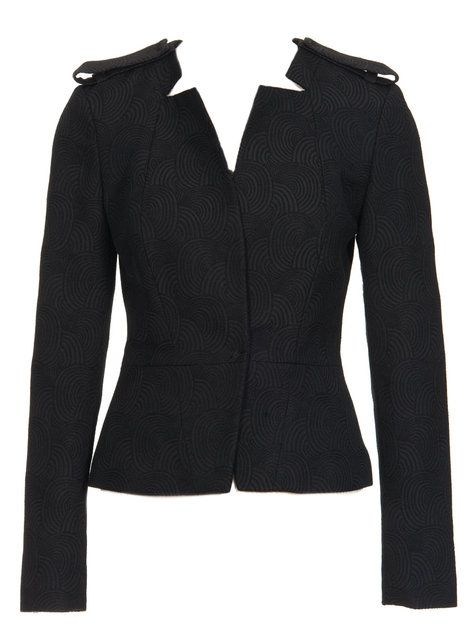 Burdastyle Cropped Jacket...a shape that might actually suit!