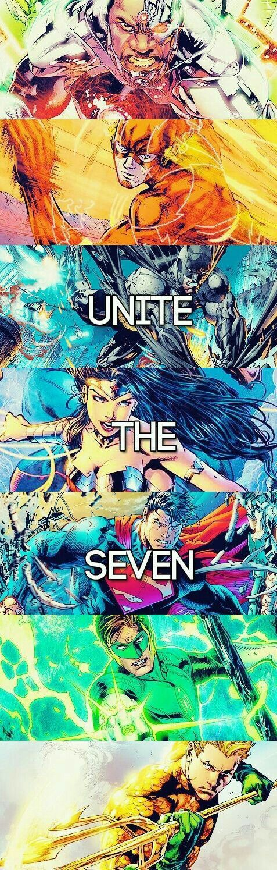 JLA: Unite the Seven!