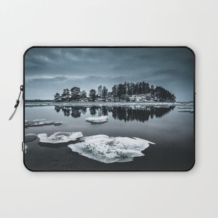 Only pieces left Laptop Sleeve by HappyMelvin. #naturephotography #winter #ice #fineart #photography #laptops #laptopsleeve