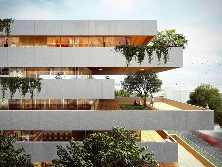 Luxury residential buildings in Yiwu, China (Recs Architects: Pier Maria Giordani, Chen Zhen, Samuele Camolese, Mario Scaffardi ▪ 2016)
