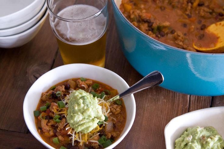 Smoky Chipotle Chicken Chili. 'Nuf said. Can't wait to make! from www...
