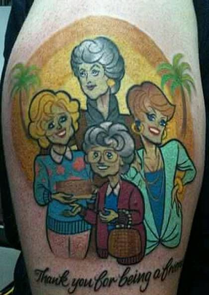 The Golden Girls Tattoo Ideas | Cool Tattoos Inspired by The Golden Girls (Page 2)
