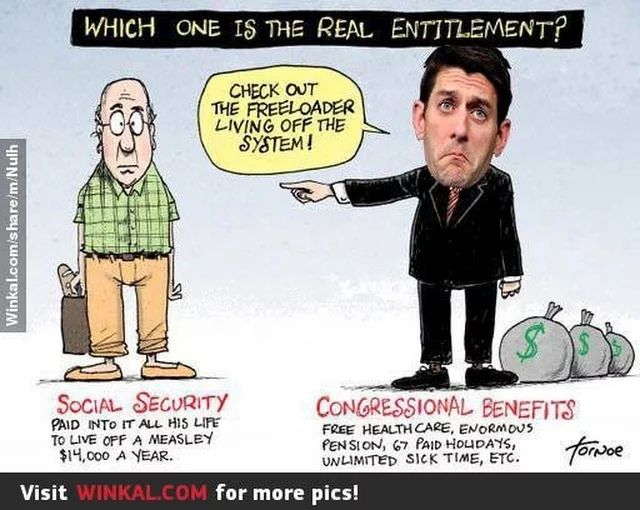 Paul Ryan and the Republicans - Yeah, not a good band.  Don't listen to them.