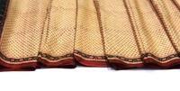 Vintage Craft Saree Pure Silk Printed Fabric Décor Floral Multi Color Sari 1427