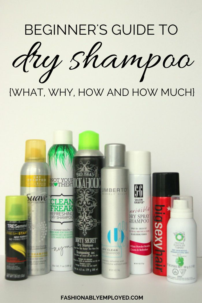 FashionablyEmployed.com | Intrigued by dry shampoo, but unsure where to start? Check out this beginner's guide for the basics on the best brands and how to use it. | Beginner's Guide to Dry Shampoo