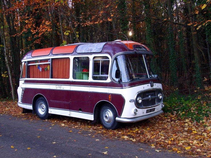 Vintage Bedford bus.- Love these.